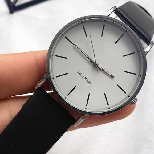 Classy Men Watch Simple