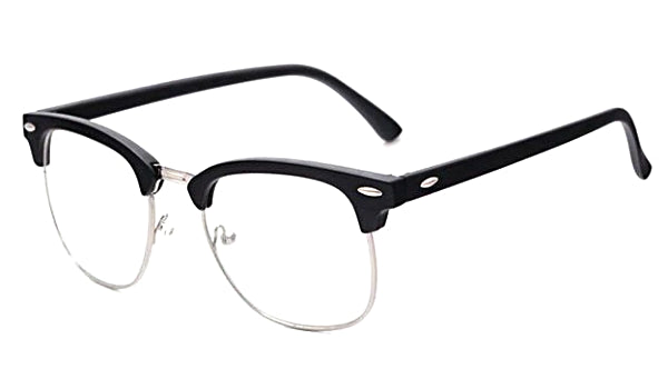 Classy Men Glasses Clear/Black