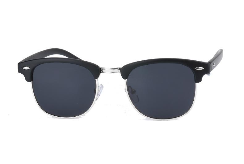 Classy Men Sunglasses Black/Silver - Classy Men Collection
