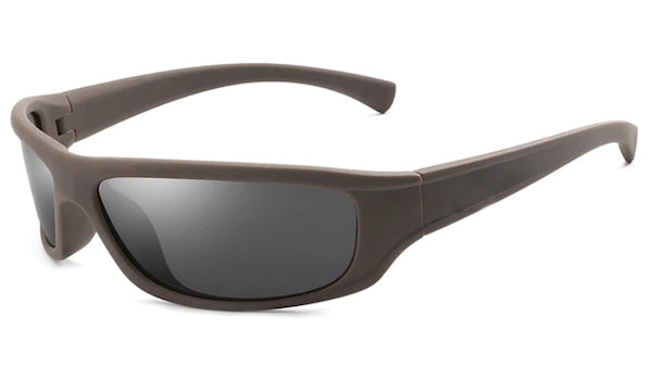 Classy Men Brown Sports Sunglasses - Classy Men Collection