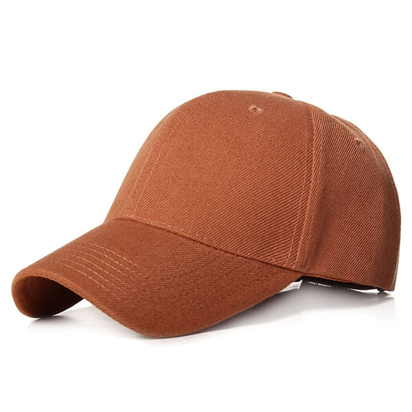 Classy Men Burnt Orange Basic Cap