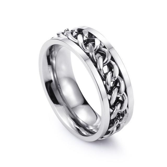 Classy Men Chain Ring - Classy Men Collection