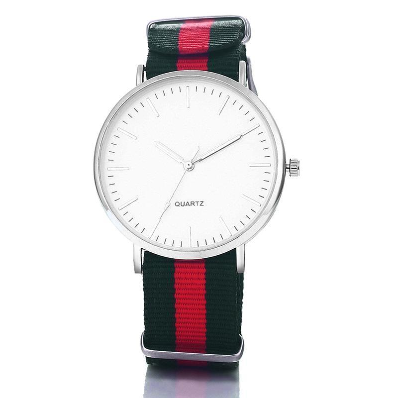 Classy Men Watch Fancy - Green Red