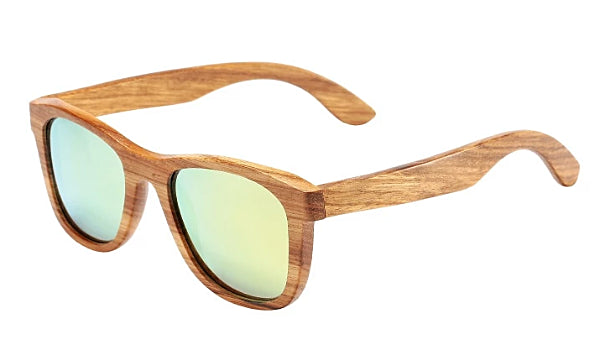 Classy Men Gold Polarized Bamboo Wood Sunglasses - Classy Men Collection