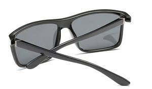 Classy Men Black Square Sunglasses - Classy Men Collection