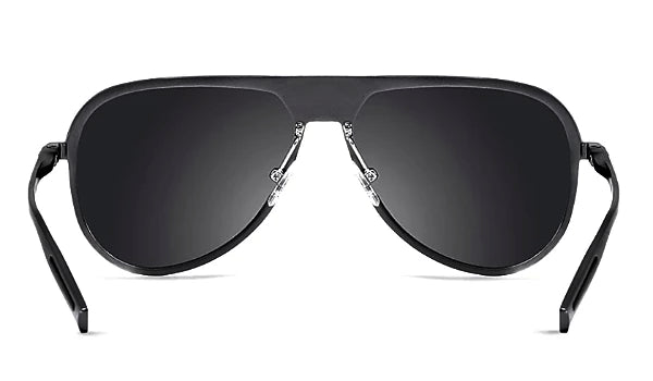 Classy Men Black Polarized Luxury Aviators - Classy Men Collection
