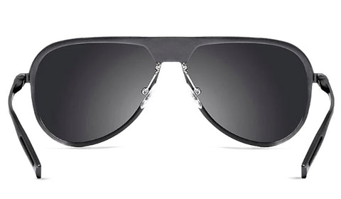Classy Men Grey Polarized Luxury Aviators - Classy Men Collection