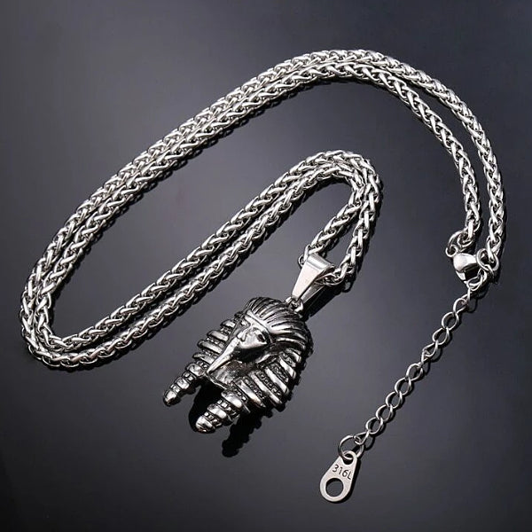Silver Pharaoh necklace
