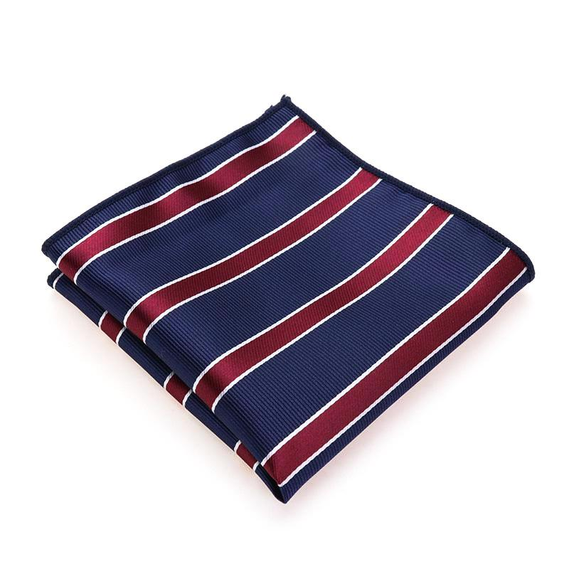 Classy Men Striped Pocket Square - Classy Men Collection