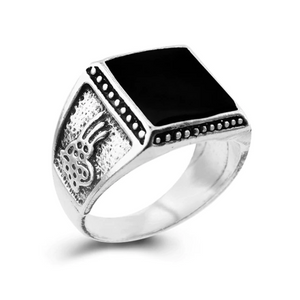 Classy Men Black Antique Ring - Classy Men Collection