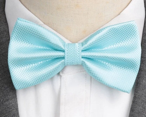 Classy Men Turquoise Deluxe Pre-Tied Bow Tie
