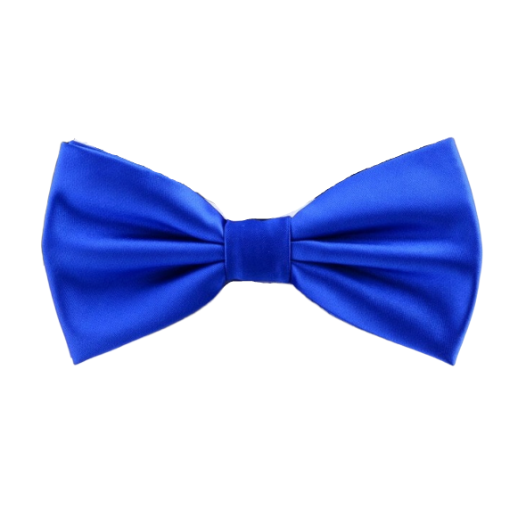 Classy Men Blue Silk Pre-Tied Bow Tie - Classy Men Collection
