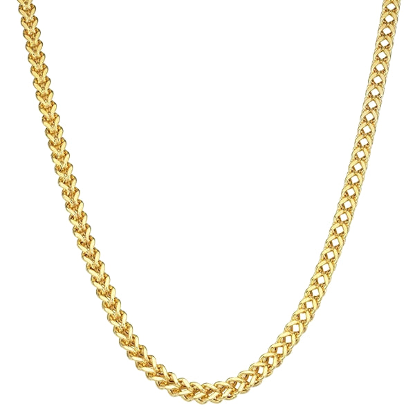 Classy Men 6mm Gold Franco Chain Necklace