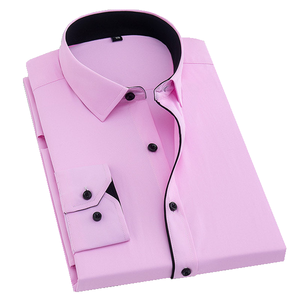 Formal Pink Dress Shirt | Modern Fit | Sizes 38-48 - Classy Men Collection