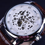 Classy Men Watch Royal White/Silver - Classy Men Collection
