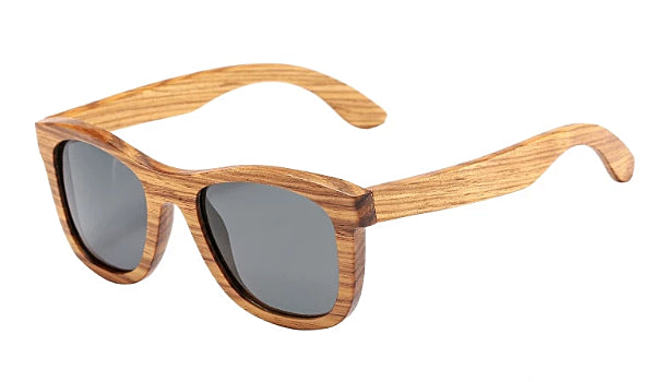Classy Men Grey Polarized Bamboo Wood Sunglasses - Classy Men Collection