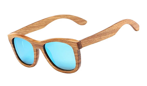 Classy Men Ocean Polarized Bamboo Wood Sunglasses - Classy Men Collection