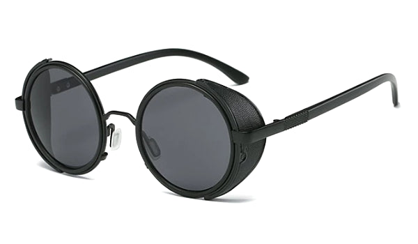 Classy Men Black Retro Side Shield Sunglasses - Classy Men Collection
