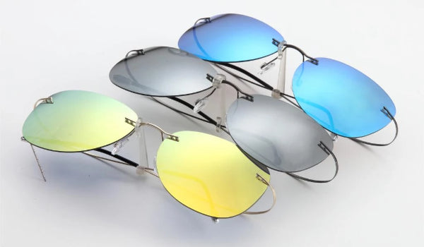 Classy Men Blue Lightweight Aviator Sunglasses - Classy Men Collection