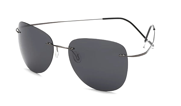Classy Men Black Lightweight Aviator Sunglasses - Classy Men Collection