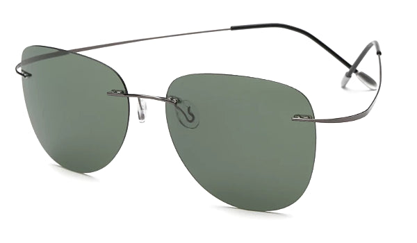 Classy Men Green Lightweight Aviator Sunglasses - Classy Men Collection