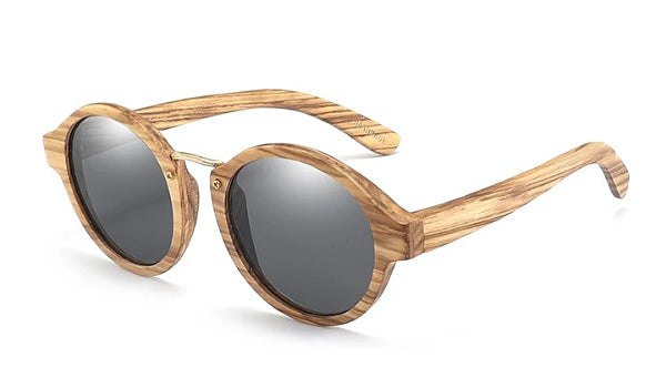 Classy Men Black Handmade Zebrawood Sunglasses - Classy Men Collection