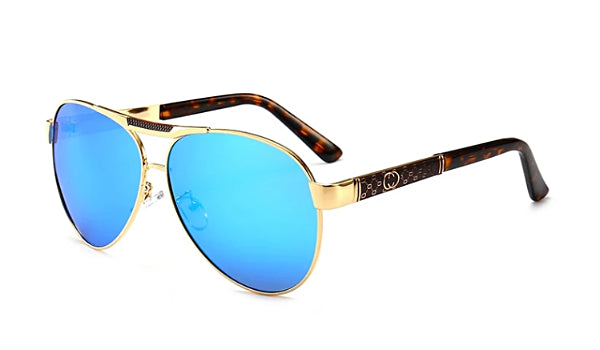 Classy Men Polarized Aviator Sunglasses