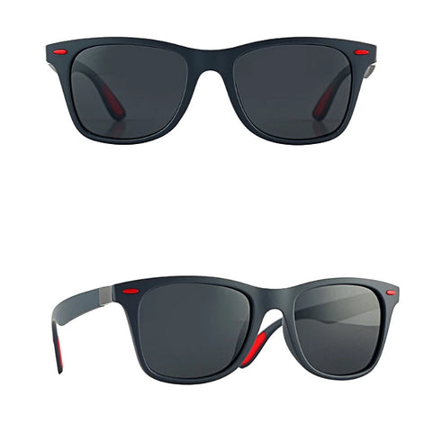 Classy Men Grey Polarized Beach Sunglasses - Classy Men Collection