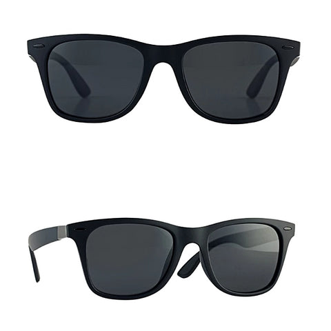 Classy Men Black Polarized Beach Sunglasses - Classy Men Collection