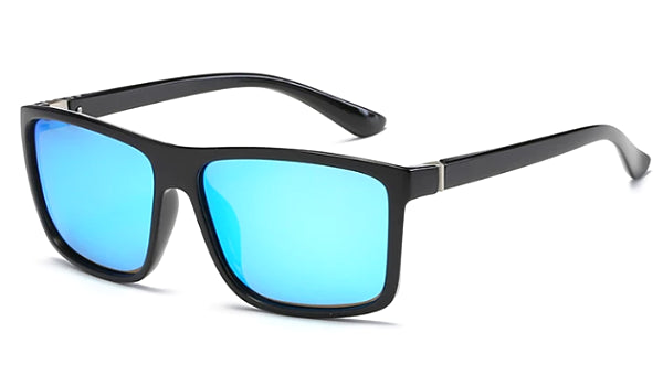 Classy Men Blue Square Sunglasses - Classy Men Collection