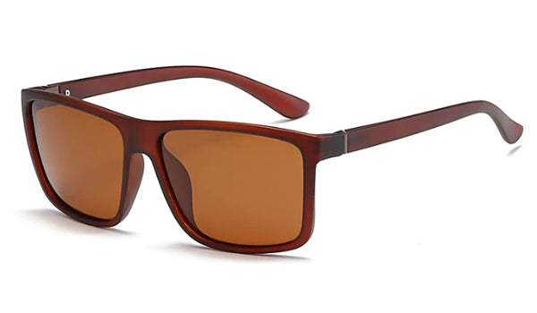 Classy Men Brown Square Sunglasses - Classy Men Collection