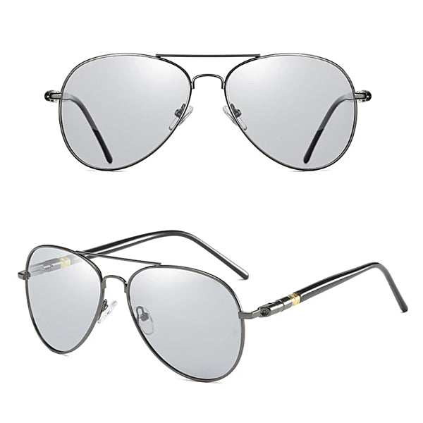 Classy Men Photochromic Aviator Sunglasses