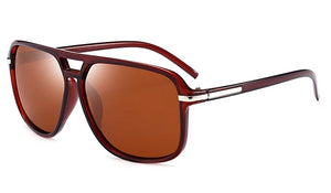 Classy Men Brown Jetsetter Sunglasses - Classy Men Collection