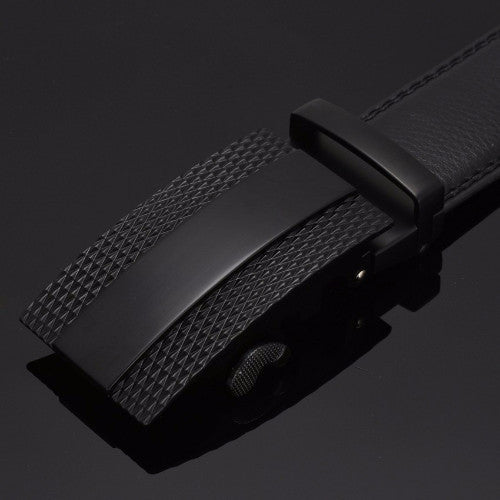 Classy Men Belt Black Pattern - Classy Men Collection