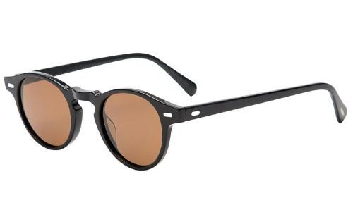 Classy Men Sunglasses Retro Black/Brown - Classy Men Collection