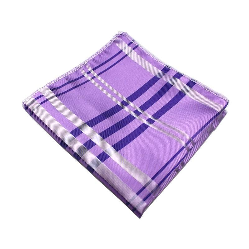 Classy Men Pocket Square Purple - Classy Men Collection