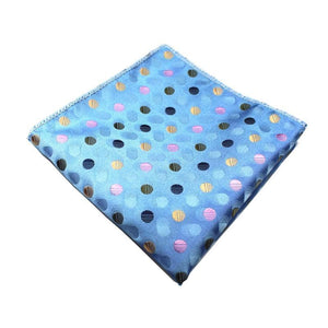 Classy Men Pocket Square Turquoise - Classy Men Collection