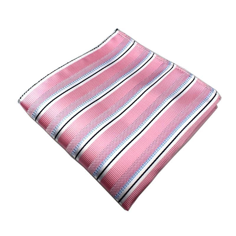 Classy Men Pocket Square Pink - Classy Men Collection