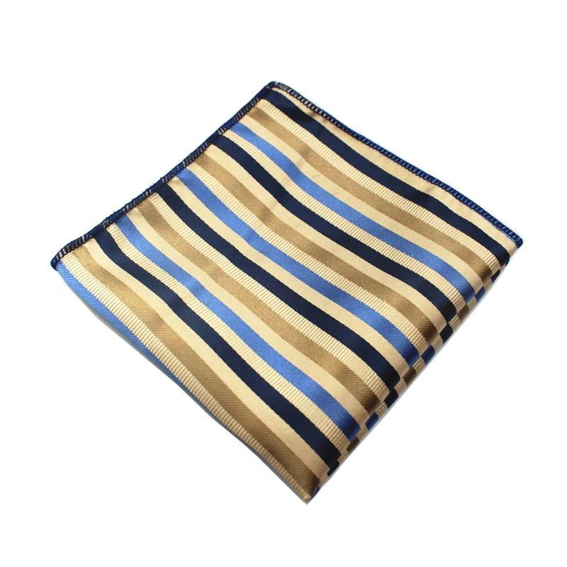 Classy Men Pocket Square Striped
