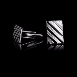 Classy Men Cufflinks Silver - Classy Men Collection