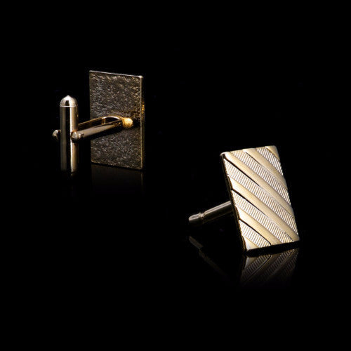 Classy Men Cufflinks Gold - Classy Men Collection