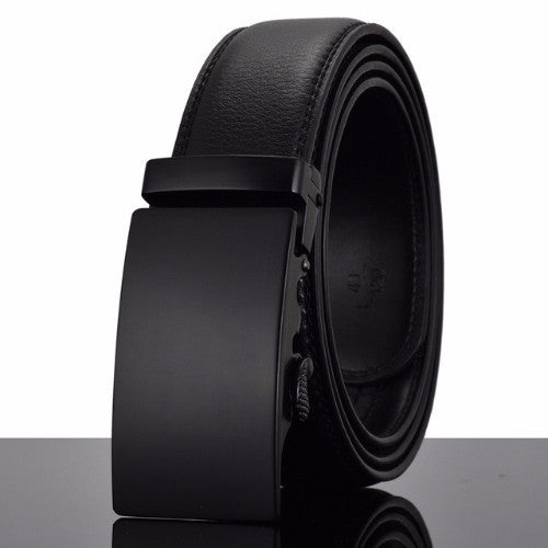Classy Men Belt Black On Black - Classy Men Collection