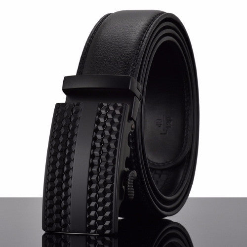Classy Men Belt Black Stripe - Classy Men Collection
