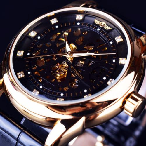 Classy Men Watch Royal Black/Gold - Classy Men Collection