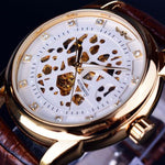 Classy Men Watch Royal White/Gold - Classy Men Collection