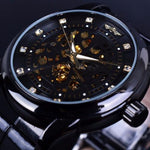 Classy Men Watch Royal Black - Classy Men Collection