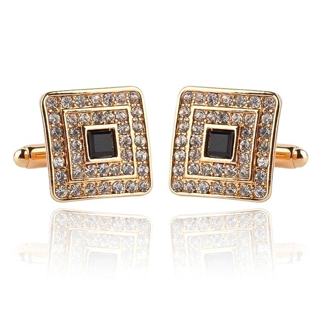 Classy Men Gold Luxury Cufflinks - Classy Men Collection