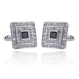 Classy Men Silver Luxury Cufflinks - Classy Men Collection