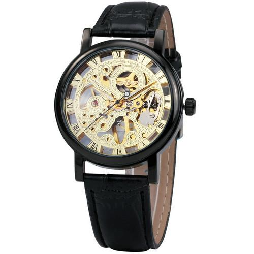 Classy Men Watch Superior Black/Gold - Classy Men Collection