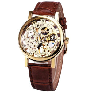 Classy Men Watch Superior Brown/Gold - Classy Men Collection